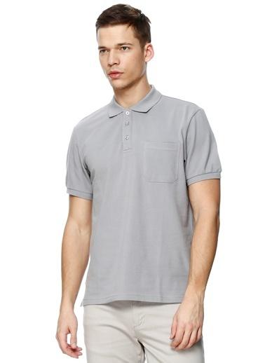Limon Company Polo Yaka Tişört Gri